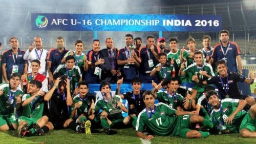This group of Iraqi players have tasted success in India before