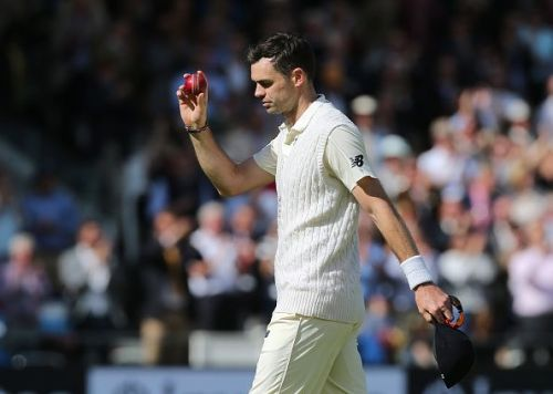 Anderson became the first Englishman to take 500 wickets