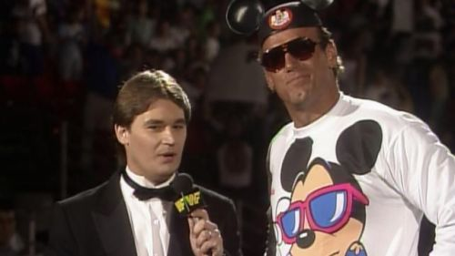 Tony Schiavone didn't spend much time in the WWF, but he remembers it well