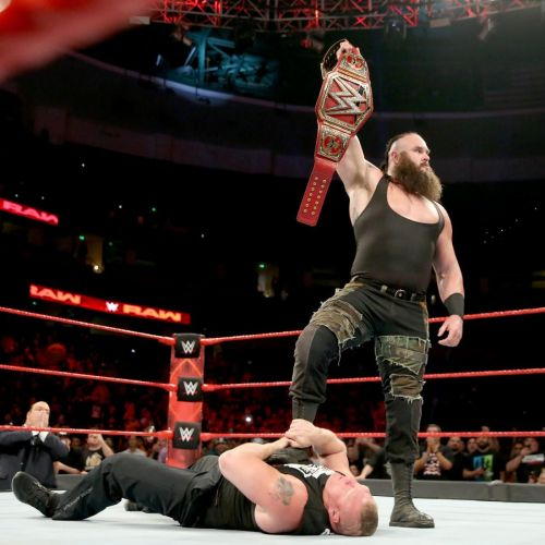 Braun Strowman's quest to capture the WWE Universal Title reaches its concluding stages