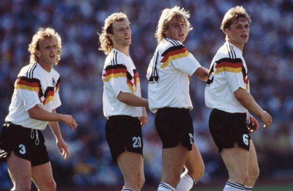 West Germany v Denmark - UEFA Euro