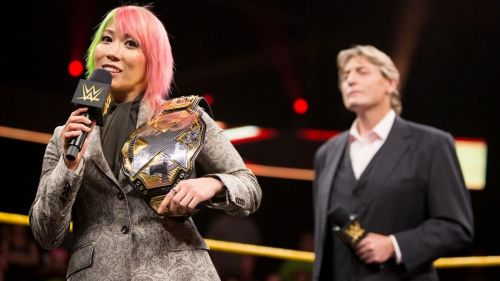 Asuka had to relinquish her NXT title