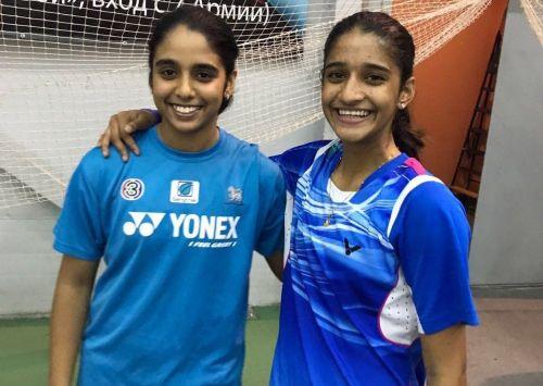 Jakka Vaishnavi Reddy (left)