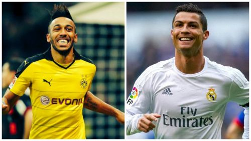 Aubameyang and Ronaldo are expected to spearhead the attack of their respective teams on Tuesday