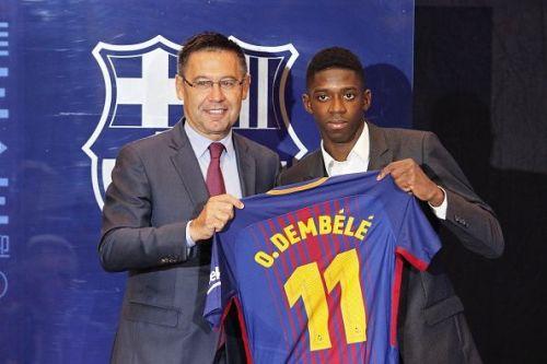 Barcelona transfer football leaks Dembele Coutinho