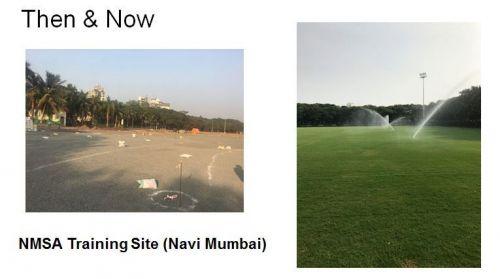 Renovation work at Navi Mumbai