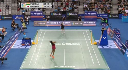 Sindhu had the better of Okuhara