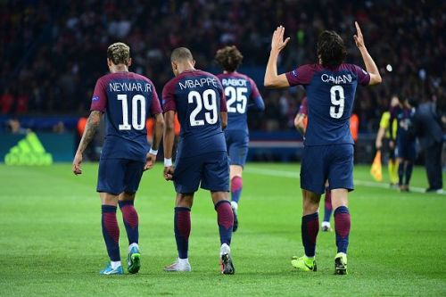 Mbappe was the architect for both Cavani and Neymar's goals
