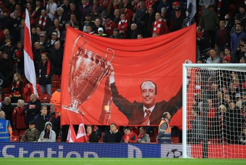 Benitez is still a revered figure at Anfield