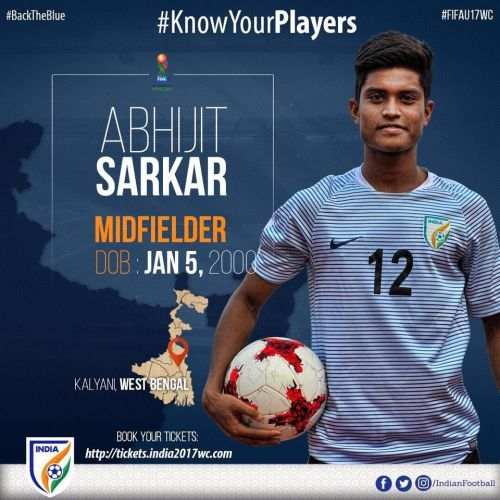 Abhijit Sarkar's short bio