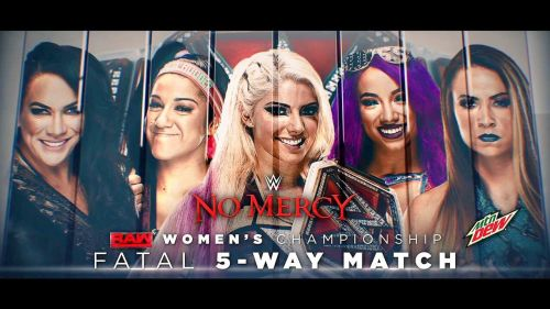 Alexa took on 5 other Superstars with her championship on the line