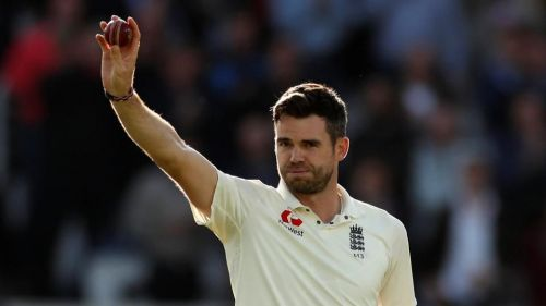 James Anderson became the latest bowler and the first Englishman to take 500 Test wickets