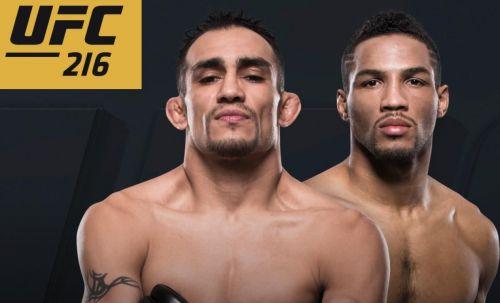 Ferguson and Kevin Lee headline UFC 216 for the interim lightweight title