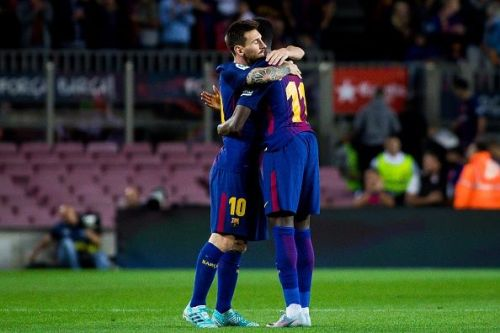 Barcelona ran out comfortable winners