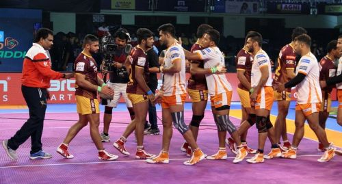 UP Yoddha produced a great comeback but failed to cross the line and handed Puneri Paltan a narrow win