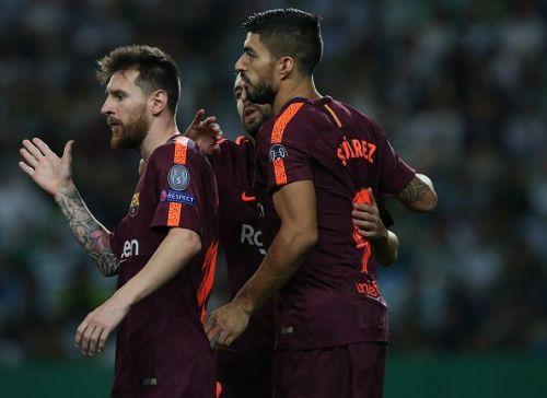 Barcelona were narrow winners against Sporting