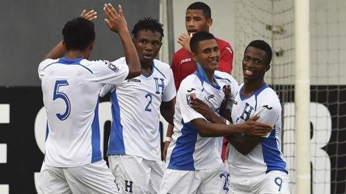 The Honduras U17s