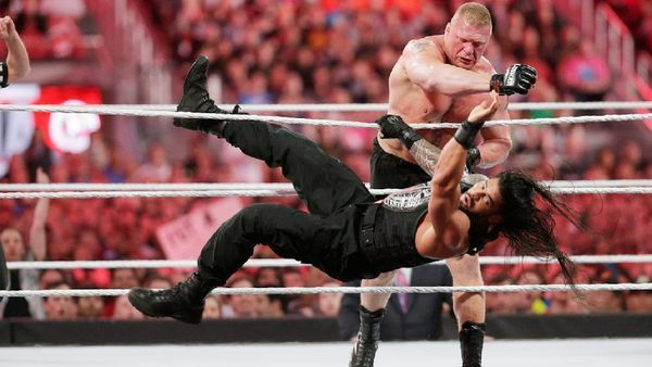 Image result for BRock lesnar ROMAN REIGNS