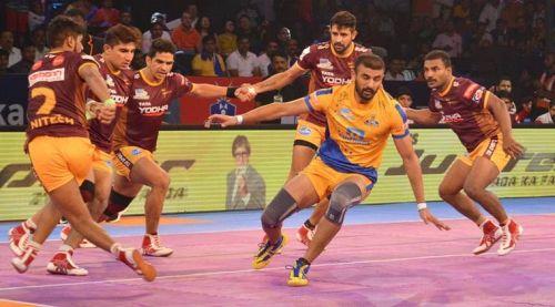 Ajay Thakur (yellow)