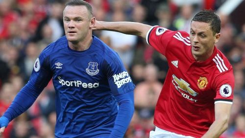 Image result for everton frustrated against manchester united