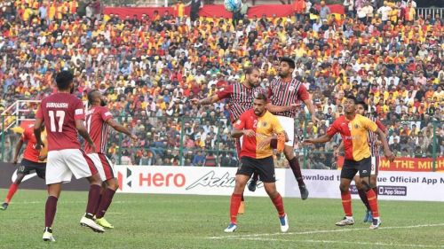 East Bengal have won the CFL title 7 times in a row