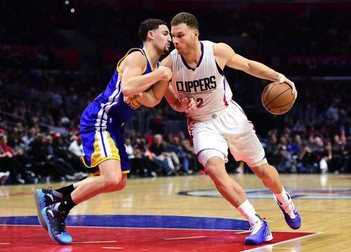 Klay Thompson and Blake Griffin