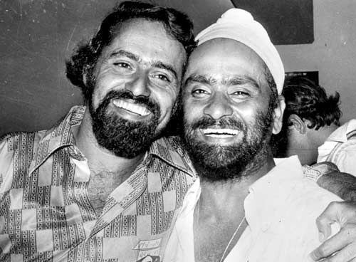 Bhagwat Chandrasekhar and Bishen Singh Bedi