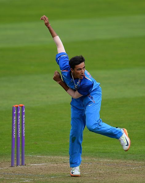 Abhishek in action in England