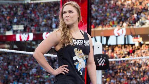 Ronda Rousey at WrestleMania 31