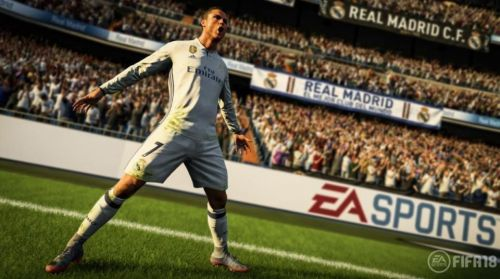 Ronaldo's jump celebration has been added to FIFA 18