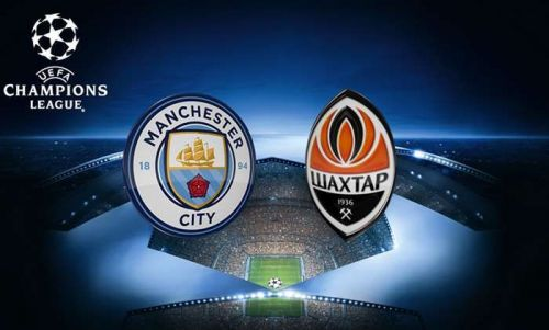 Image result for man city vs Shakhtar