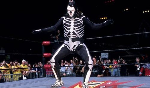 La Parka is best known for his time in WCW.