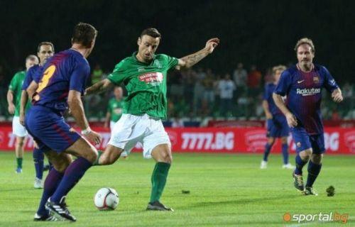 Berbatov in action
