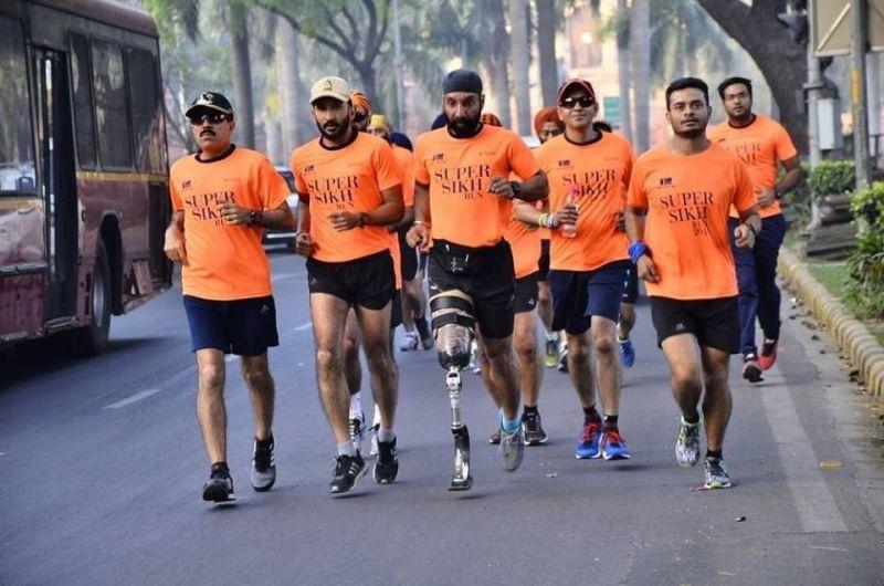 Super Sikh Squad lead by Major DP Singh