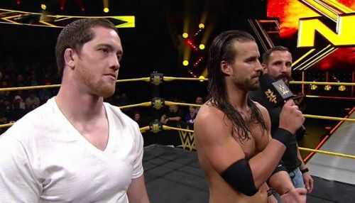 Adam Cole (Center) is highly respected for his work in the indies.