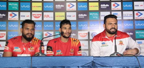 Gujarat coach Manpreet Singh was relieved to get the win in the end