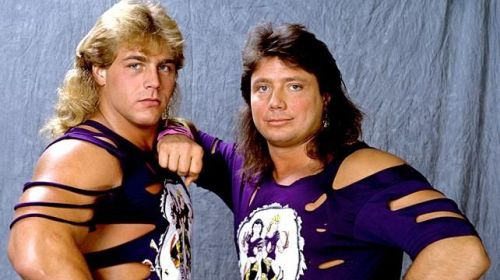 Tag-team wrestling at its best.