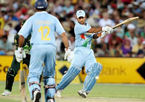 MS Dhoni was in the zone on the night