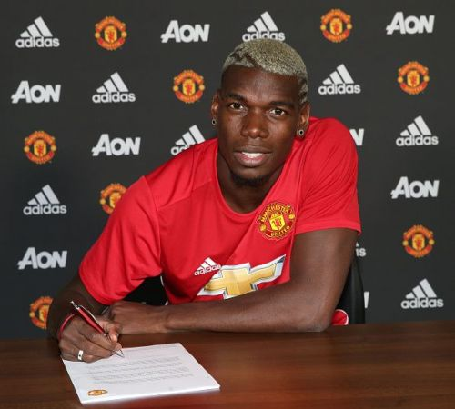 Paul Pogba's transfer record was shattered this past summer