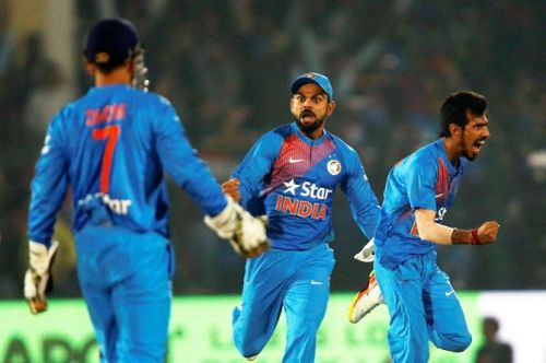 Both MS Dhoni and Virat Kohli have played a vital part in Chahal's success