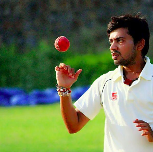 Kanpur-based cricketer Utkarsh Dwivedi. Image: Supplied