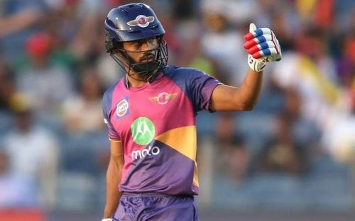 Rahul Tripathi was exceptional in the IPL