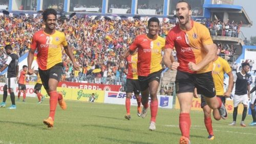 Mahmoud Al Amna's crucial goals were what guided East Bengal to the title