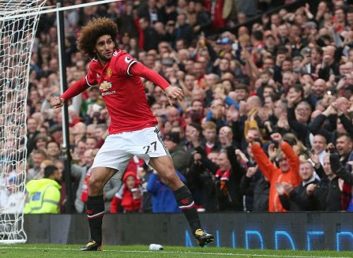Fellaini delivered a match-winning performance