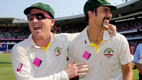 Haddin and Johnson - 'Heroes of The Ashes'