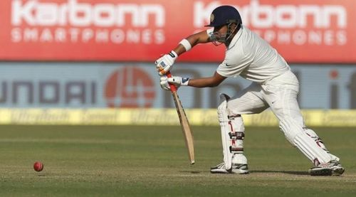 Gambhir's innings helped India draw the Test after conceding a heavy lead in the first innings