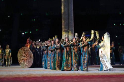 Ashgabat 2017 opening