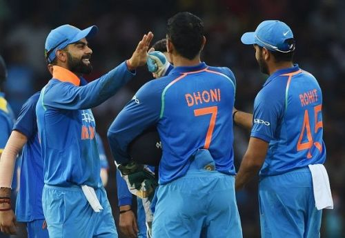 India took an unassailable 3-0 lead in the series after beating Australia by runs in the third ODI