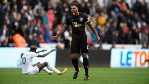 Jamaal Lascelles in action