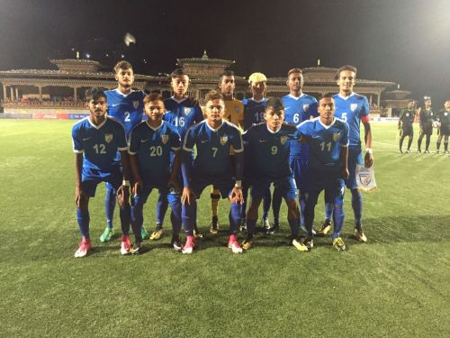 India U18s romped to a comfortable win